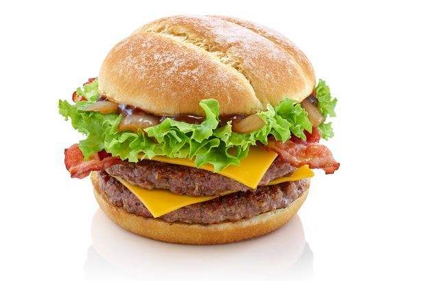 McDonald's Uk , The Tennessee Stack  features a rich Tennessee style BBQ sauce, two beef burgers, Beechwood smoked bacon, grilled onions and smoky cheese in a flour topped bun