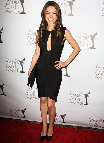 Mila Kunis - Cut out Little Black Dress