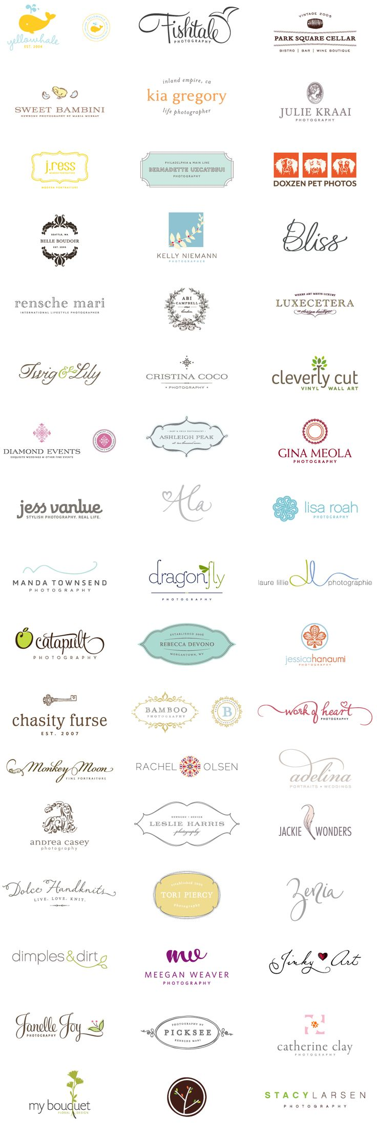 Great logo portfolio
