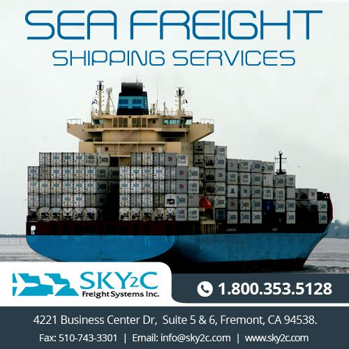Sky2C Freight System offers you a full range of #seafreight #shipping services at cost-effective rates.