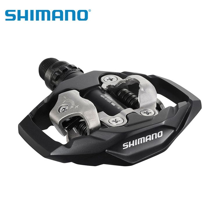 Shimano PD-M530 SPD MTB Trail MTB Clipless Pedals with Cleats Black white pedales bicicleta mtb