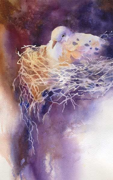 """""""Shelter"""" ~ Susan Crouch, Watercolor Artist"""