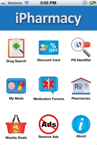 The iPharmacy app Drug price comparison, pill ID, medication guide, medication reminder, prescription coupon, rx discount card, FDA recalls and alerts, One stop information for your lowest Rx.