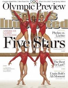 US Olympics Gymnastics Team Makes Sports Illustrated Cover via @bestgymnastics #gymnastics