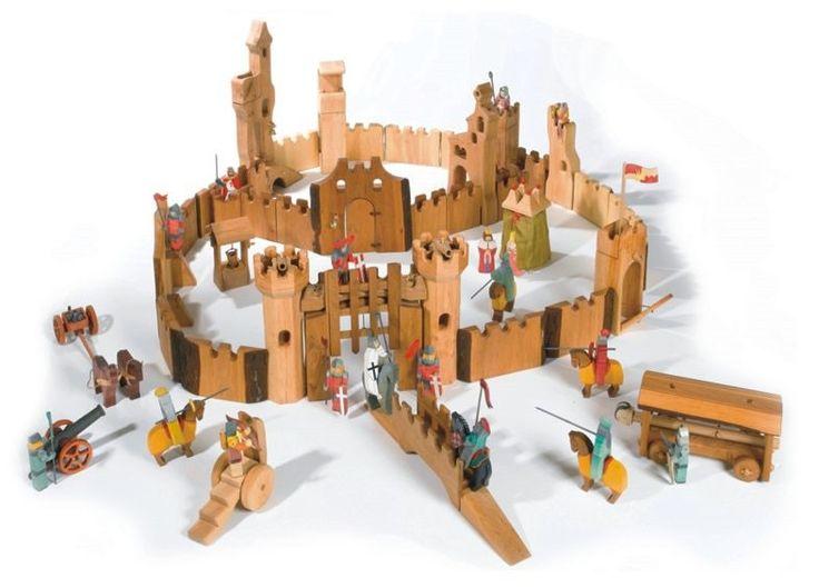 Kinderkram Castle Toys ~~ Misschien een beetje té, maar wat ontzettend leuk