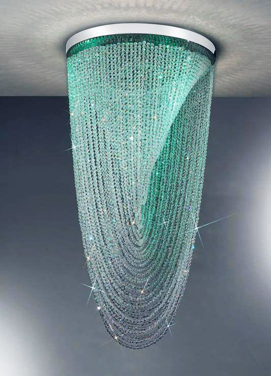 Mystery LED Colour-Changing Crystal Chandelier - Kolarz Lighting