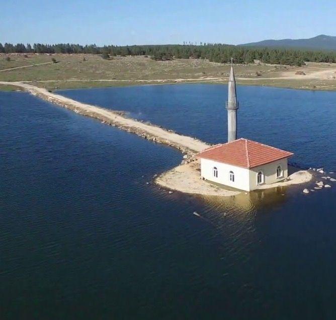 Göl cami/Seben gölü/Bolu