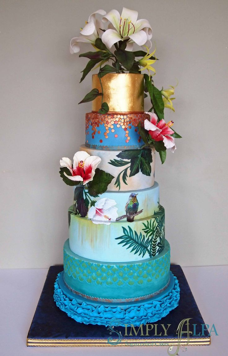 94 Best Be Unique Wedding Cakes Images On Pinterest