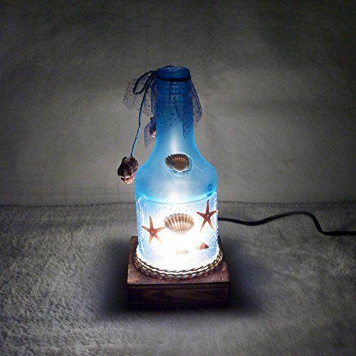 Bottiglia di vino lampada romantica Ocean-stile studente gli amici e compagni di classe collega regali creativi EURO 22,58