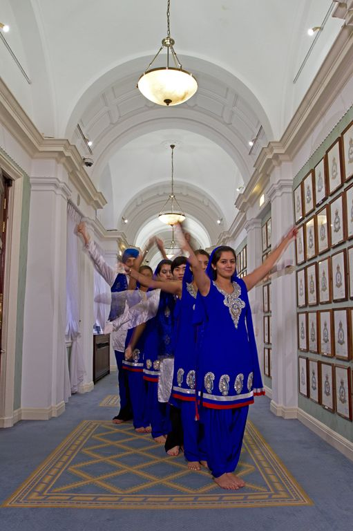 The Squadron's Bhangra Dance Troupe