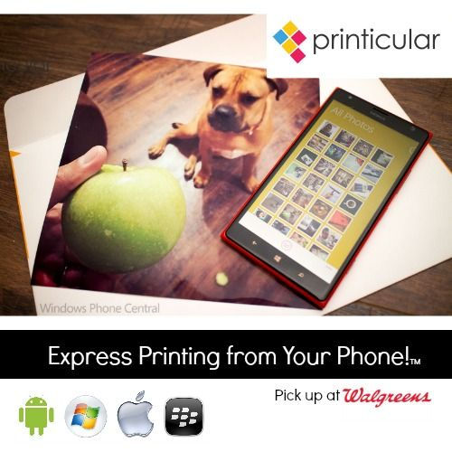 Love Life and Print It…right from your mobile device to @Walgreens - find out how to #GetPrinticular