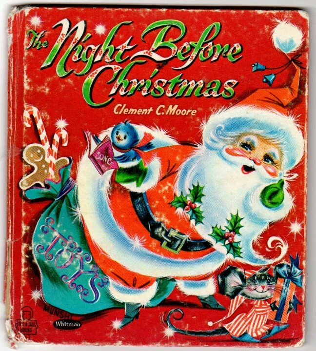 Vintage ~ The Night Before Christmas book <3 <3 <3
