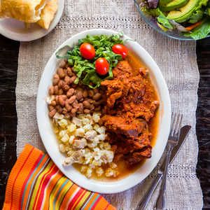 Rancho de Chimayó restaurant, in Chimayó, New Mexico, serves probably the most classic version of this New Mexico stew of pork braised in...