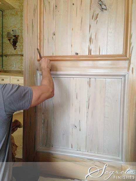17 best ideas about pecky cypress paneling on pinterest Wood paneling transformation