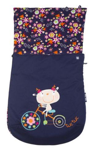 Saco cuco bicycle flores