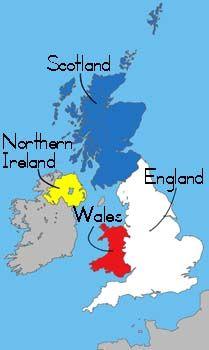 Best United Kingdom Map Ideas On Pinterest Great Britain - United kingdom europe map
