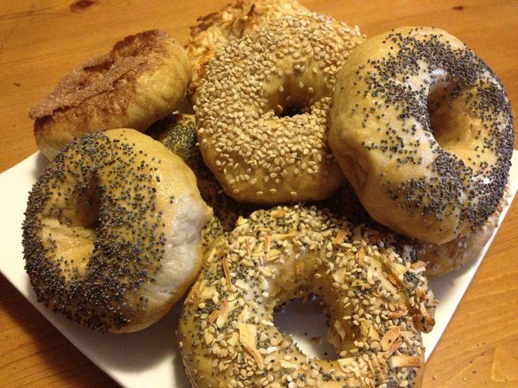 Homemade New York Style Bagels