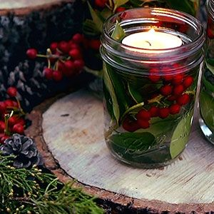 How to Make Holly Luminaries - P. Allen Smith