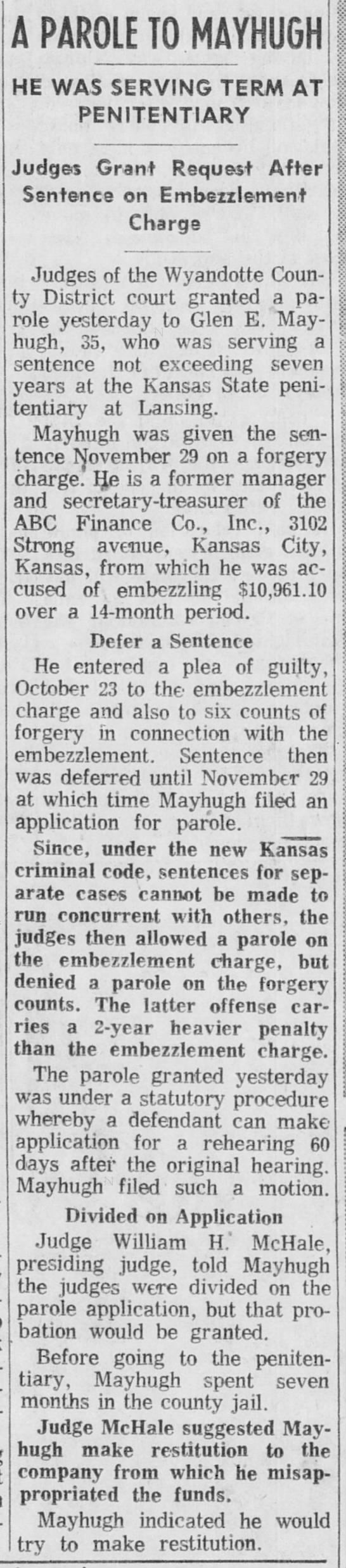 Clipping from The Kansas City Times on Newspapers.com