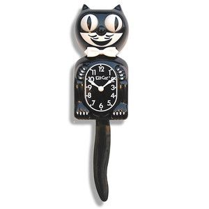"""Kit-Cat Classic Black 14"""", $49.99, now featured on Fab."""