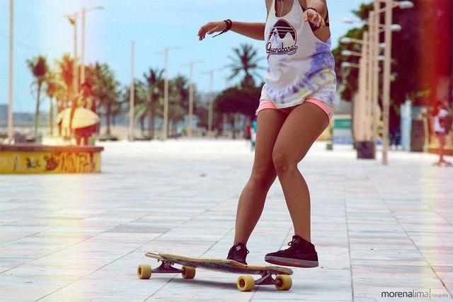 Danse Avec Un Skateboard : Regardez Ce Que Sait Faire Cette Fille
