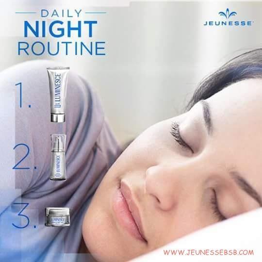 Sua rotina da noite! Linha Luminsce !Conheça em nosso site!  #cosméticos #www.jeunessebsb.com #dermatologista #médicos #saúde #qualidade #tratamento #brasília #bsb #df #brasíliadf #cuidadosparapele #cuidadosparaocorpo #corpoesaúde