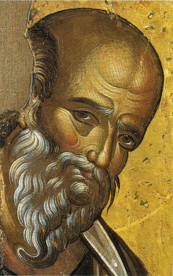 Heilige Johannes de Evangelist, detail