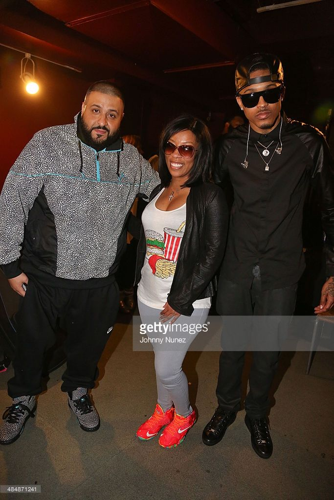 DJ Khaled, K. Michelle and August Alsina attend August Alsina 'Testimony' Album Release Concert at S.O.B.'s on April 14, 2014 in New York City.