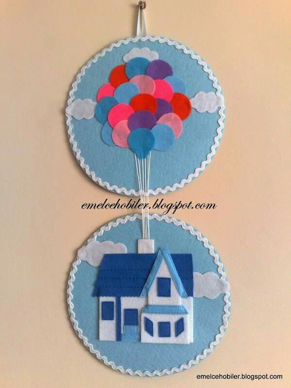 Pin By Doaa Abu Bakr On Felt Crafts D 3 Crafts Felt Crafts Diy Home Crafts