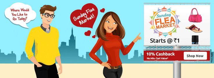 Shopclues Sunday Flea Market 14 February : Shopclues 14 Feburary Valentine Day Offers - Best Online Offer