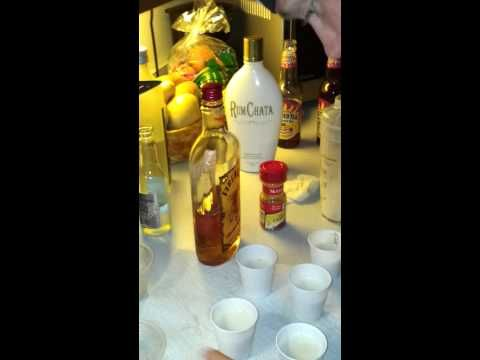 Fireball and rum chata