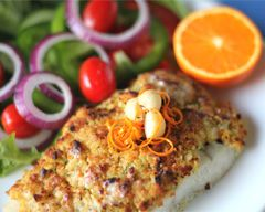 Macadamia Crusted Barramundi Recipe  -  This fish has just magnificent texture and taste! Did you know that Macadamia Nuts are indigenous to Australia? Yummy aren't they?