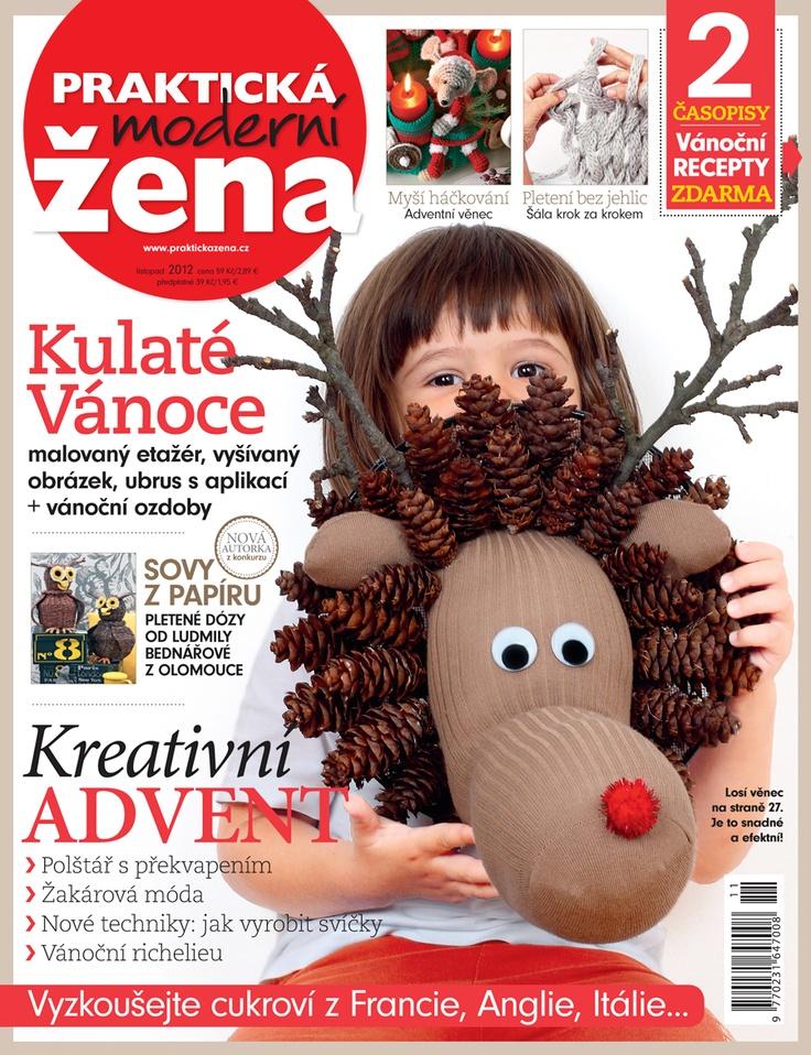 Listopadové číslo Praktické ženy je už na stáncích. The november issue on newstands.