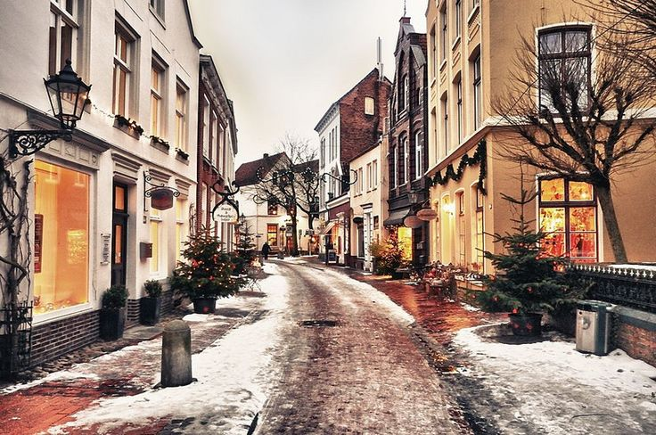 Winter in Leer, Germany