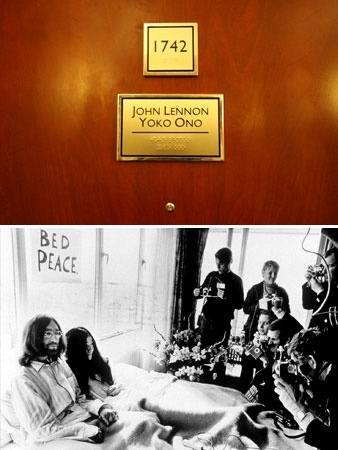 Fairmont The Queen Elizabeth, Montreal, Quebec... where Lennon recorded 'Give Peace a Chance.'
