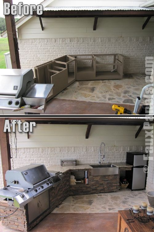 BBQ Island Design | Clad Barbecues in Faux Rock or Brick