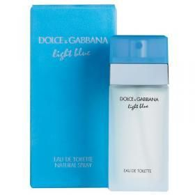 Light Blue Eau De Toilette Spray 100ml by Dolce & Gabbana for Women launched in 2001 by the design house of Dolce & Gabbana. Light Blue by D&G is a stunning perfume, overwhelming and irresistible that likes the joy of living.