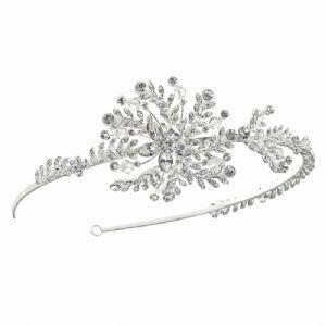 Swarovski Crystal Leafed Vine Headband from Tiaras and Sparkles