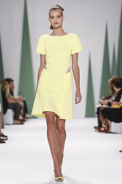 Carolina Herrera Ready To Wear Spring Summer 2015 New York #NYFW #SS15 #RTW