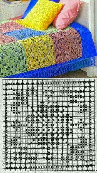 square filet chart