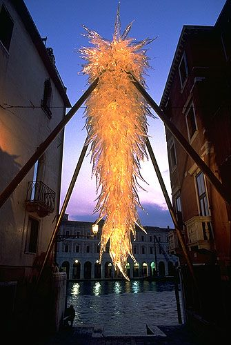 Dale Chihuly. Glass art...i will own a piece of his someday...maybe even a piece this big
