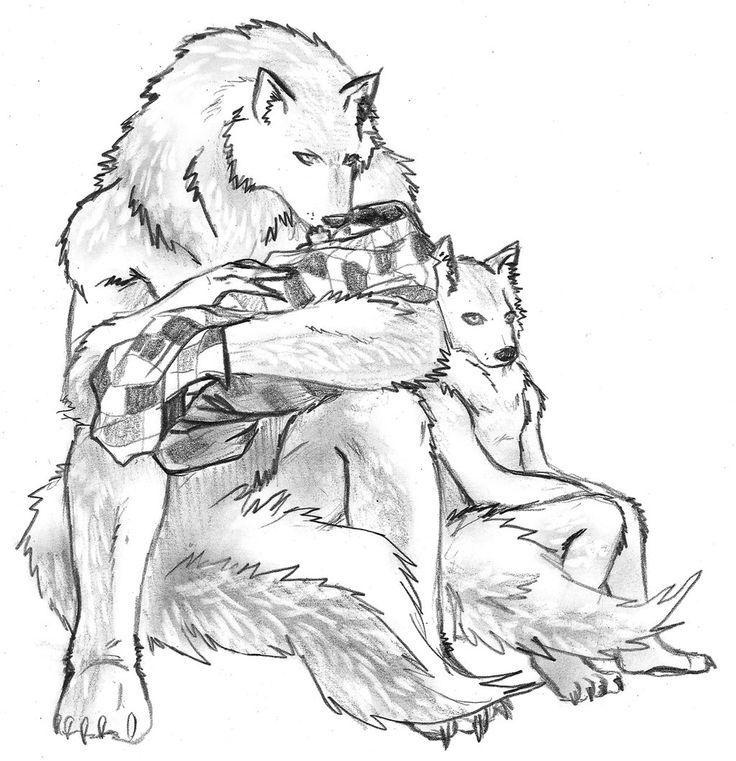 солнечного сплетения картинки парень и волк рисовать фото