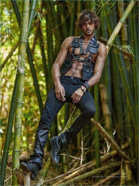 Secret Paradise: Marlon Teixeira Stars in Risbel Cover Shoot