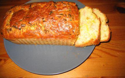 Recette - Cake au saumon et aux poireaux   750g