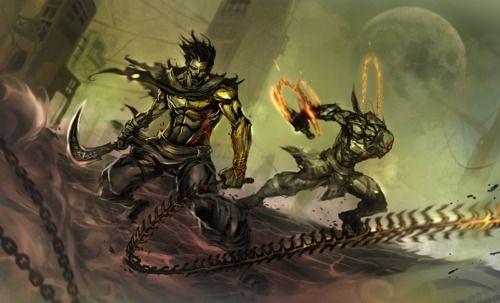 Kratos, Prince of Persia, God of War