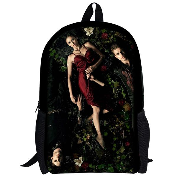 whosepet-The Vampire Diaries backpack school bag with teleplay character design latest character backpack vampire diaries $19.99