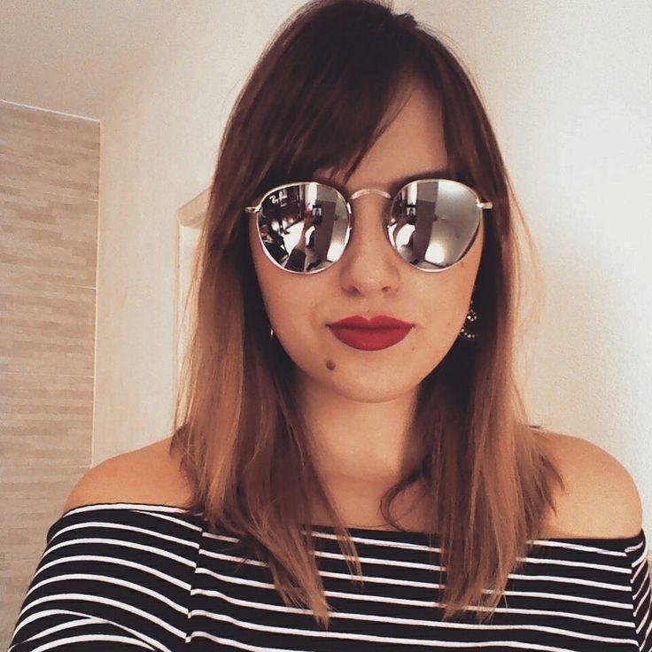 Óculos redondo :D tendência