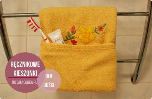 Pockets of towels