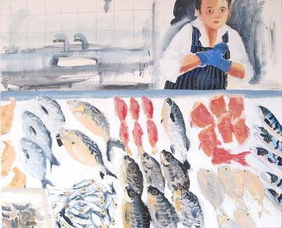 'The Fishmonger's Daughter' by Brita Granström from 'Butcher, Baker, Cockle Sweet-Maker: Portraits from Berwick upon Tweed'