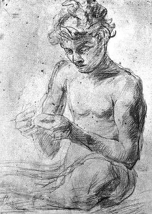 Gemito,_Vincenzo_(1852-1929)_-_Pescatorello_(1870_ca.)_-_Disegno_-_p._L